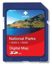 Satmap National Park 1:25000/1:50000 National Forest