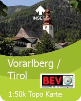 Satmap 1:50000 Tirol/Vorarlberg