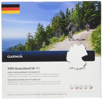 Garmin Topo Deutschland V8 Pro microSD-/SD