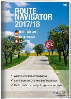 TVG-Verlag RouteNavigator DACH 2017/18