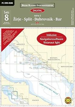 Delius Klasing Sportbootkarten Satz 08: Adria 2 (2015)