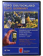 Garmin TOPO MapSource Deutschland 2.0