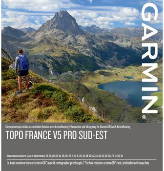 Garmin Topo Frankreich v5 Pro Süd Ost