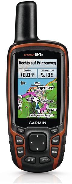 Garmin GPSMAP 64s + Topo Deutschland V7 Pro microSD