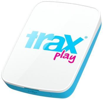 Trax Play GPS Tracker Haustiertracker weiß/blau