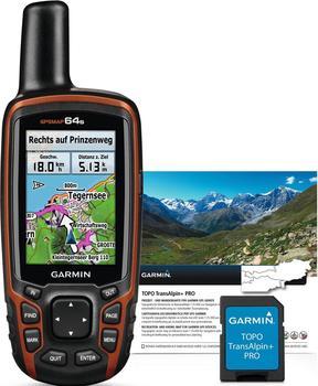 Garmin GPSmap 64s mit Topo TransAlpin+ Pro microSD