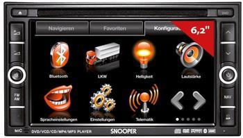 Snooper AVNS9020 LKW- Navigationssystem