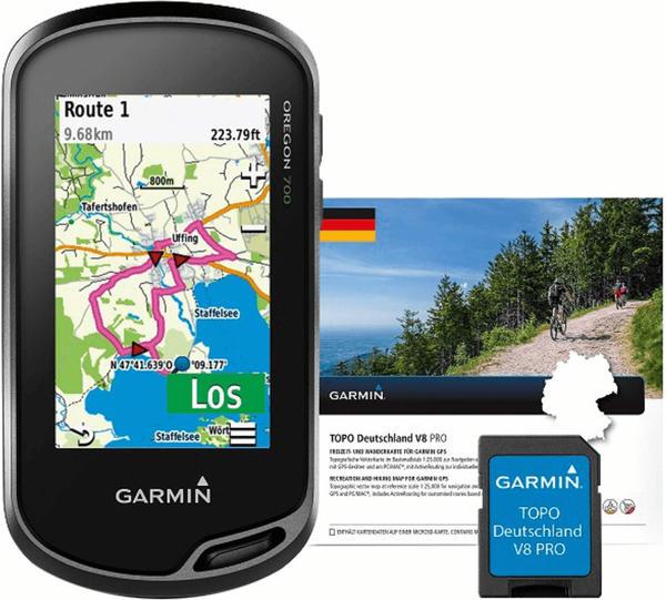 Garmin Oregon 700 + Topo Deutschland V8 Pro