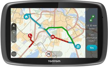 TomTom GO 51012,7cm Sat Nav mit Welt Karten und Lebenslange Karte und Traffic Updates Via Smartphone Konnektivität