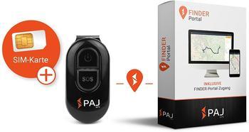 PAJ EASY GPS Tracker Personentracker, Multifunktionstracker Schwarz