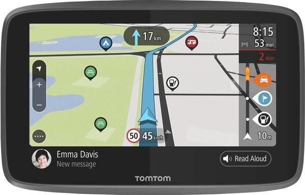 TomTom GO Camper Wohnmobil-Navi 15.5cm 6 Zoll Welt