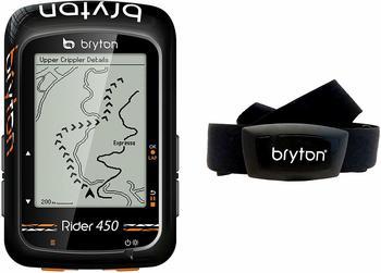 """Bryton Rider 450H GPS Radfahren, schwarz, 2.3"""""""