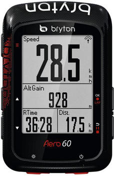 Bryton Aero 60 Fahrradcomputer Bundle schwarz 2018 Fahrradcomputer