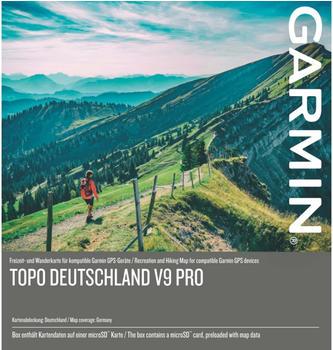 Garmin TOPO Germany v9 PRO Wanderkarte Outdoorkarte Fahrrad, Geocaching, Ski, Wandern Deutschland
