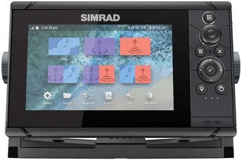 Simrad Cruise 7 mit Basiskarte und 83/200-Schwinger