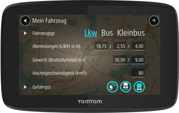 TomTom GO Professional 520 Europa Kartenmaterial