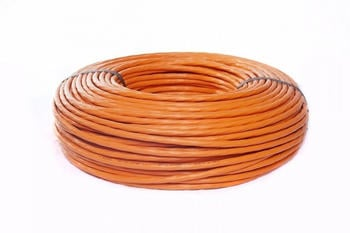 BIGtec S/FTP Gigabit Verlegekabel CAT 7A 50m orange (BIG2392)