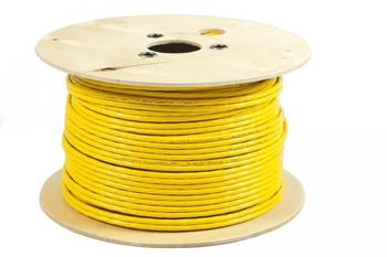 BIGtec Verlegekabel duplex CAT 7 150m gelb (BIG2159)
