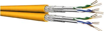 Draka 4X2 AWG23-500DW2 CAT 7A 500m gelb