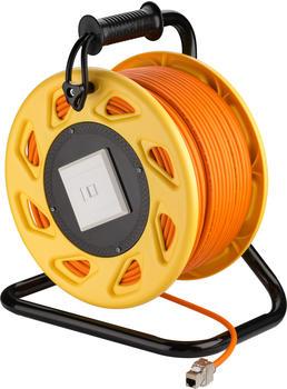 Goobay Kabeltrommel CAT 7A S/FTP 50m orange