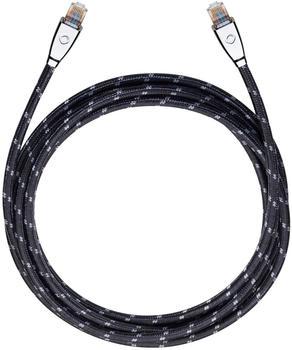 Oehlbach High-End-Netzwerk-/Streamingkabel 7,5m schwarz