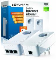 Devolo dLAN Powerline 650 triple+ Starter Kit