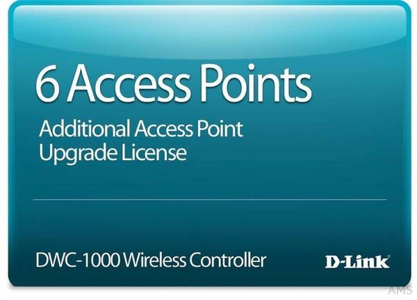 D-Link 6 Access Point Lizenzen für DWC-1000 Gigabit Wireless Controller
