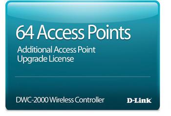 D-Link 64 Zusatzlizenzen für DWC-2000