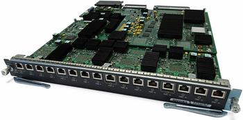 Cisco Systems 16-Port 10 Gigabit Ethernet Copper (WS-X6816-10T-2T=)