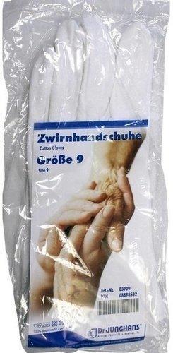 Dr. Junghans Medical Zwirnhandschuhe Gr. 9 (2 Stk.)