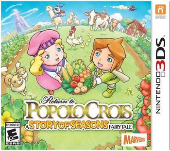 Return to Popolocrois: Story of Seasons Fairytale (3DS)
