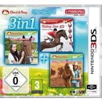 3 in 1: Mein Reiterhof 3D: Im Galopp ins Abenteuer + Riding Star 3D: Champion im Sattle + Mein Westernpferd 3D (3DS)