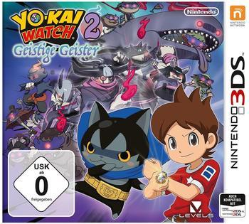 Yo-Kai Watch 2: Geistige Geister (3DS)