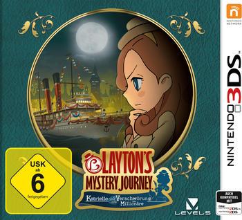 Layton's Mystery Journey: Katrielle und die Verschwörung der Millionäre (3DS)