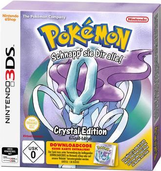Pokémon: Kristall-Edition (3DS)