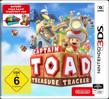 Nintendo Captain Toad: Treasure Tracker Nintendo 3DS