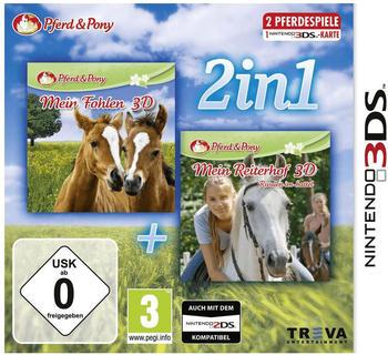 Ak tronic 2in1: Mein Fohlen 3D + Mein Reiterhof