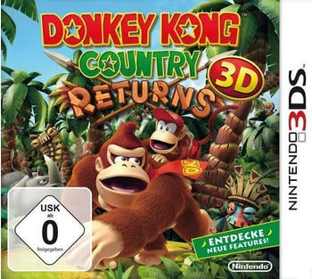 Nintendo Donkey Kong Country Returns 3D Selects [3Ds]