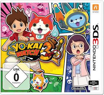 Nintendo YO-KAI WATCH 3 3DS & 2DS USK: 0