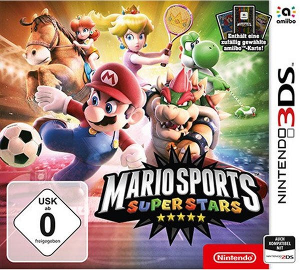 Nintendo Mario Sports Superstars 3DS - amibK UK - amiibo-Karte