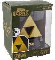 Paladone Products Paladone ICONS Gold Triforce Icon Light