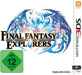 Square Enix Final Fantasy Explorers, 3DS Videospiel Nintendo 3DS Standard
