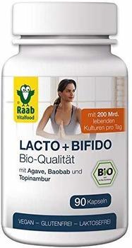 Raab Vitalfood Bio Lacto + Bifido Kapseln (90 Stk.)