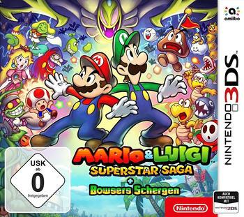 Nintendo Mario & Luigi Superstar Saga + Bowsers Schergen 3DS & 2DS USK: 0