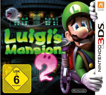 Nintendo Luigis Mansion 2 - Selects - 3DS - Action - PEGI 7