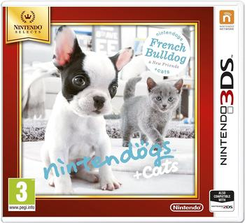 Nintendo Nintendogs - Cats French Bulldog - New Friends) (Nintendo 3DS)