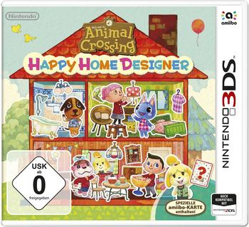 Nintendo Animal Crossing Happy Home Designer inkl. Amiibo Karte