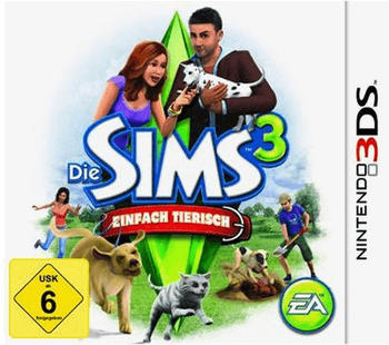 Die Sims 3: Einfach Tierisch (3DS)