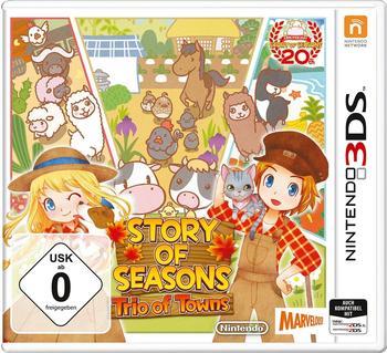 Nintendo Story of Seasons: Trio Towns [Nintendo 3DS]