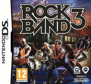 Nintendo Electronic Arts Rock Band 3, Nintendo DS